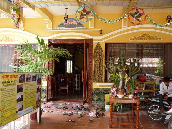 Bokre Angkor Hostel : Обувь снимаем на входе