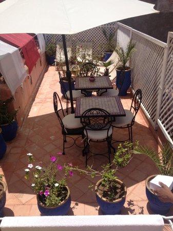 Riad Dar Saba: Terrasse