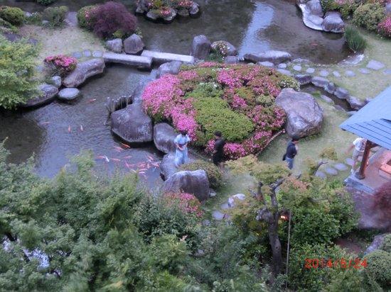 Hotel Shinko : 綺麗な庭園