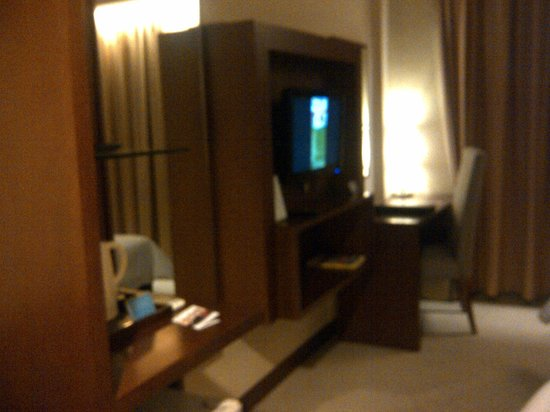 Aston Tanjung Pinang Hotel and Conference Center : TV and stuffs