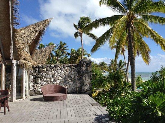 Aitutaki Escape: outside view