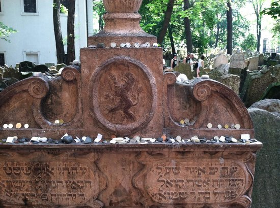 "Old Jewish Cemetery: Rabbi Judah Loew - ""The Maharal of Prague"""