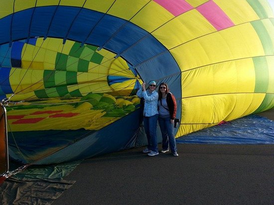Up & Away Ballooning: me and my daughter