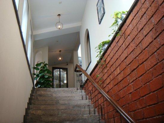 Pousada De Sao Tiago: 風情ある階段