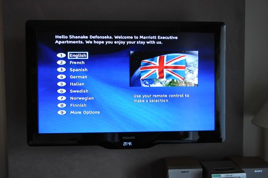 Marriott Executive Apartments Brussels, European Quarter: Smart TV