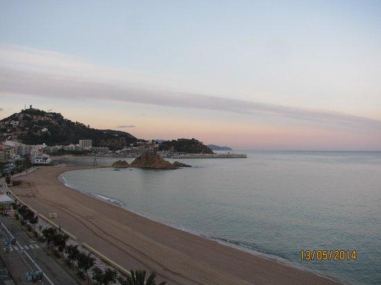 Hotel & Spa Pimar: Вид из номера (6 этаж)