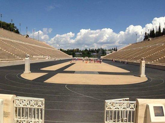 Panathenaic Stadium: The Stadium- very cool place to visit!