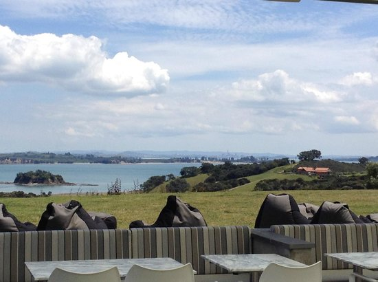 Cable Bay Vineyards Winery and Restaurant : テラスの眺め