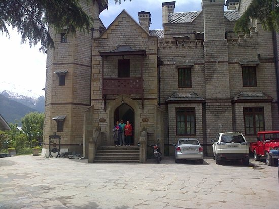 The Himalayan: the front of the hotel
