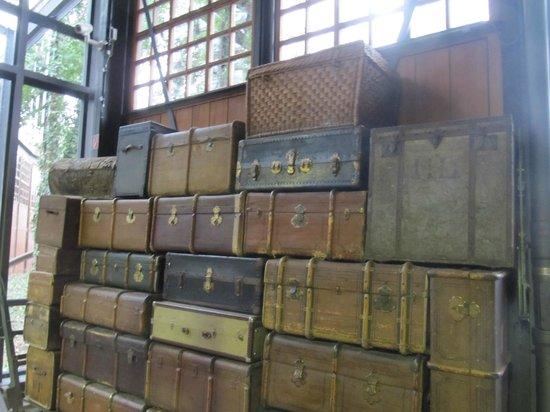 Deutsches Technikmuseum Berlin: В музее представлены чемоданы прошлой эпохи