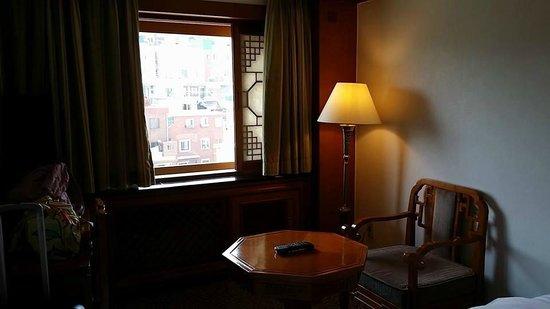 Hotel Commodore Busan: Pretty ok view
