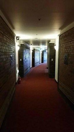Hotel Commodore Busan: Oriental corridor