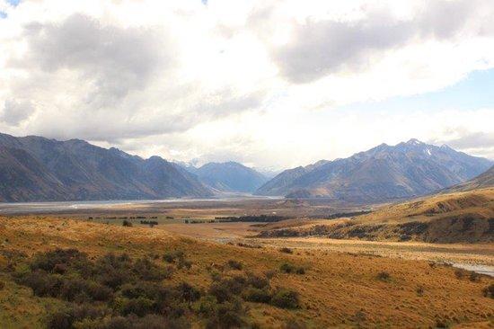 Mt Potts Lodge: stunning scenery
