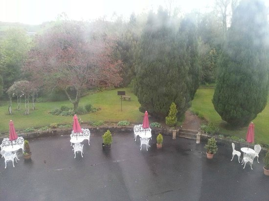 Dalmeny Park Country House Hotel: view from room 103
