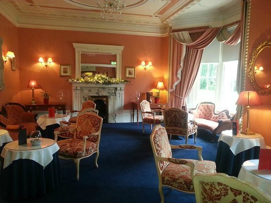 Dalmeny Park Country House Hotel: the room we got married in