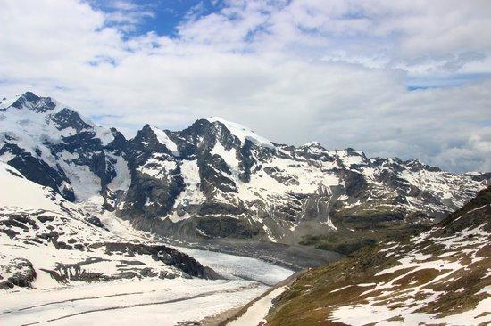 Diavolezza: モルテラッチ氷河への下り