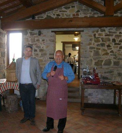 Relais Palazzo di Luglio: Il Presidente de Le Centopelli con Giuliano Tofanelli (Ventura)