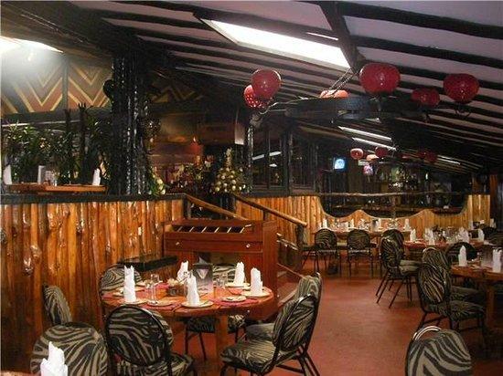The Carnivore Restaurant: Del av restaurangen