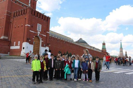 Kremlin Walls and Towers : Спасская башня.