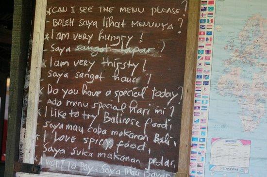 Maya Ubud Resort & Spa: restaurant in de rijstvelden