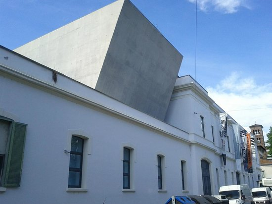 MAXXI - Museo Nazionale Delle Arti del XXI Secolo : sembra s'incastrino a sbalzo su strutture preesistenti.foto c polidori