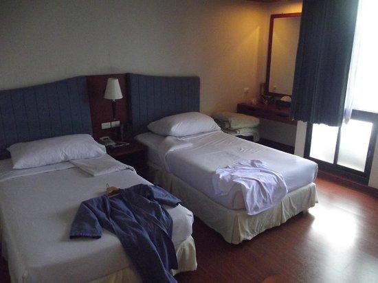 Baiyoke Suite Hotel : Спальня