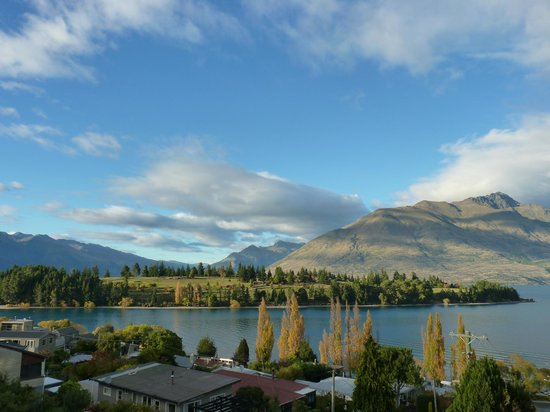 Alexis Queenstown Motor Lodge and Apartments: Amazing view from balcony!