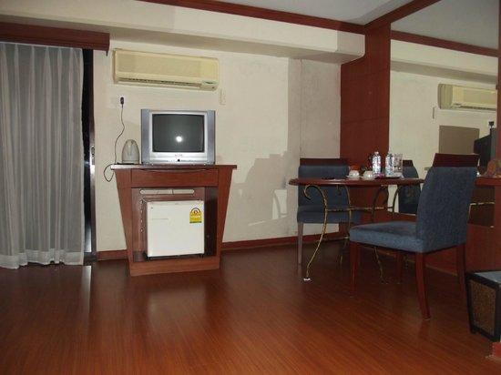 Baiyoke Suite Hotel : Гостиная
