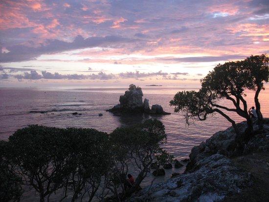 Anse Vata Beach: incroyable couleurs
