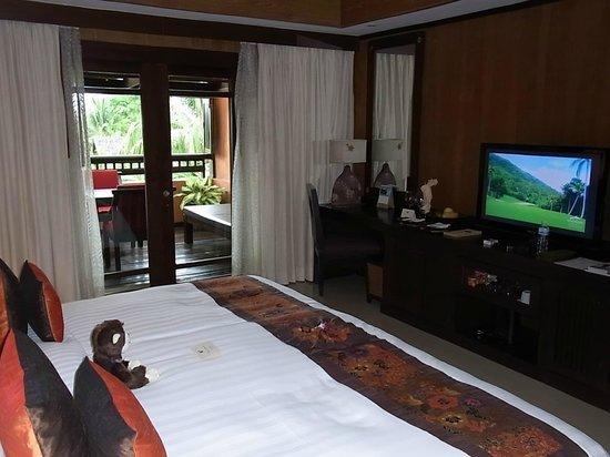 Bo Phut Resort & Spa: Platz ohne Ende ...