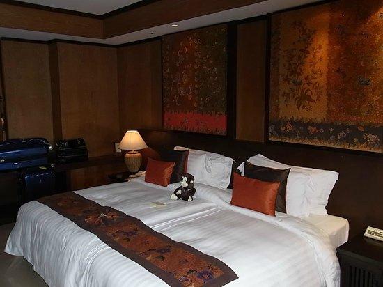 Bo Phut Resort & Spa: Riesen - Bett .....