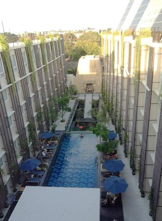 Ananta Legian Hotel: the view from the rooftop