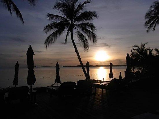 Bo Phut Resort & Spa: toller Sonnenaufgang