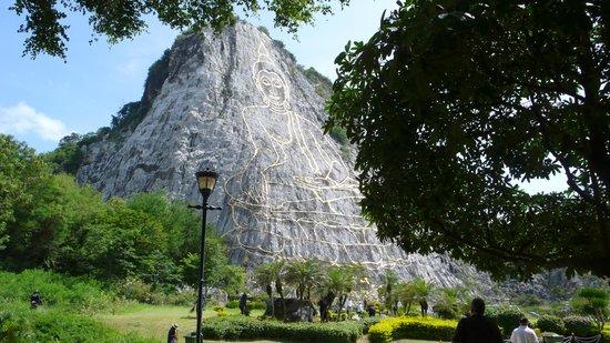 Buddha Mountain (Khao Chi Chan): Buddha mountain 2