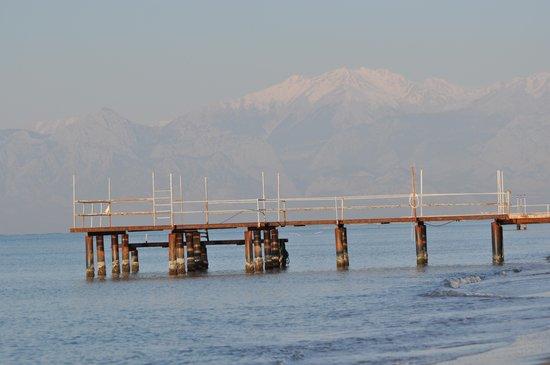 Sirene Belek Hotel: beach