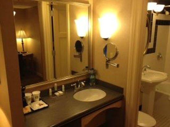 Ambassador Hotel: Bathroom