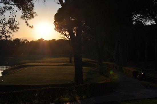 Sirene Belek Hotel: the golfcourse