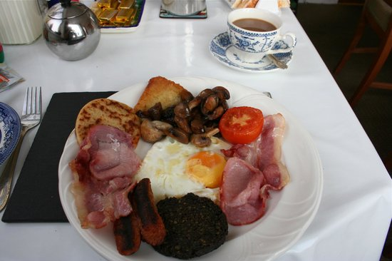 Seaforth Cottage: Scottish breakfast that will keep you going 'til dinner