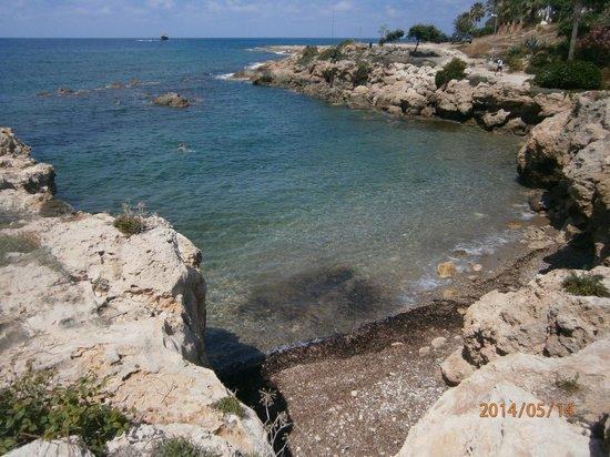 Akti Beach Village Resort : Пляж