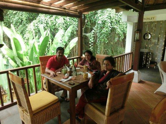 Villa Nirvana Bali : Restaurant