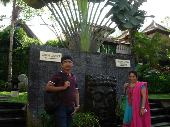 Villa Nirvana Bali : The Entrance