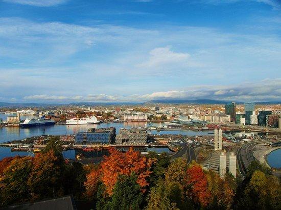 View of Oslo from Ekeberg. Photo: Tord Baklund
