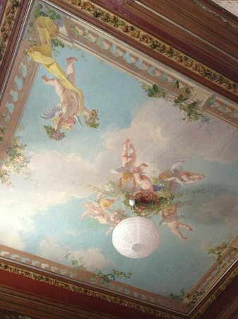 Hotel de Provence : le plafond