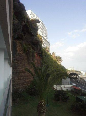 Hotel Best Semiramis : Blick aus dem 3.Stock