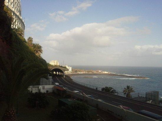 Hotel Best Semiramis : Blick zum Meer aus dem 3.Stock