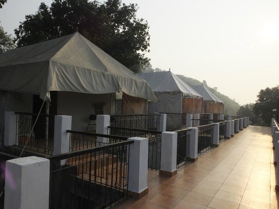 Motel Marble Rocks: The tents