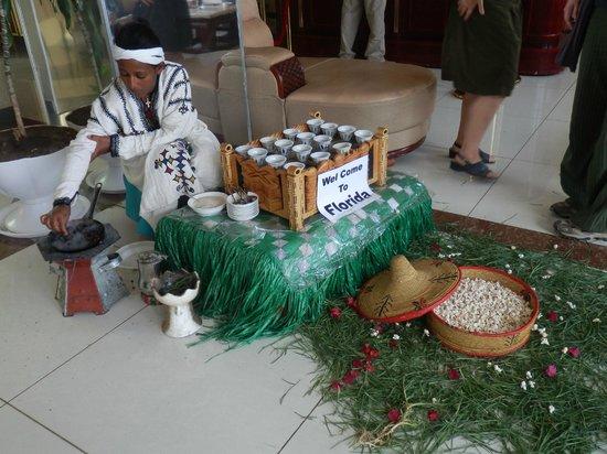 Florida International Hotel : reception gentle cofee roaster