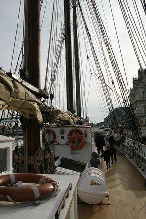Museu Maritim : Maritime Museum Boat at Barcelona Embankment