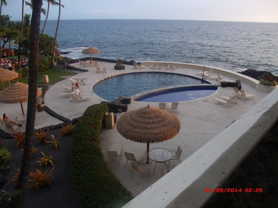 Royal Kona Resort : view from our room