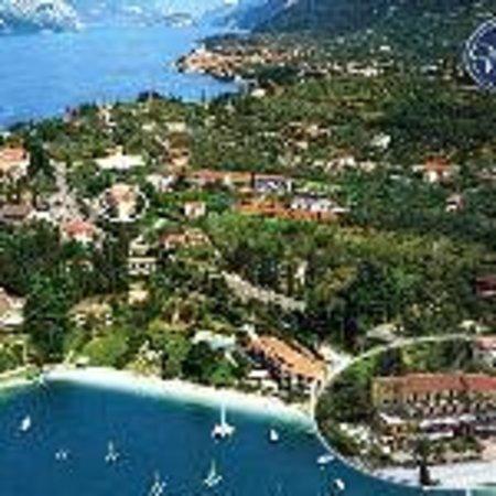 Hotel Benacus Malcesine: Aerial photo